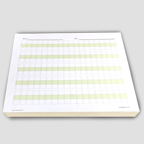 """Channie's Practice Handwriting & Printing Paper Workbook One Page A Day, 250 Pages Front & Back, 125 Sheets, Grades PreK – 1st, Size 8.5"""" x 11"""""""