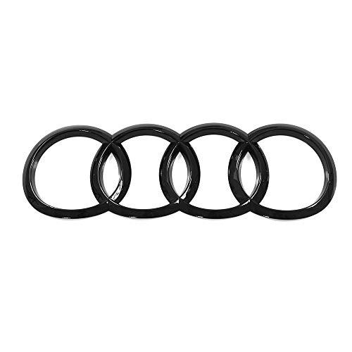 Audi 8W8853742AT94 Zeichen schwarz Heckklappe Ringe Black Edition Emblem Blackline Logo, nur für Sportback