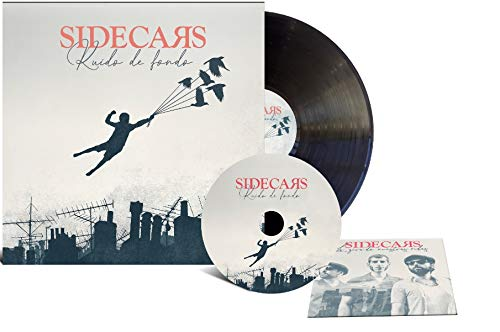 Sidecars - Ruido De Fondo (Lp + Cd + Dvd + Encuentro Digital) Edición Firmada [Vinilo]