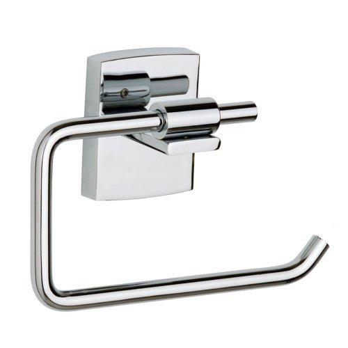 Nie Wieder Bohren klaam Toilettenpapierhalter, selbstklebend, inkl. Befestigungsset, garantiert rostfrei, 95mm x 142mm x 47mm