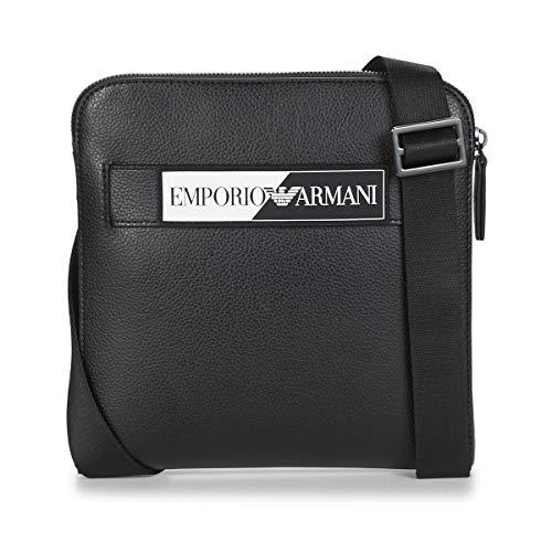 Emporio Armani OSLO Bolso pequeño/Cartera de mano hommes Negro - única - Bolso pequeño/Cartera