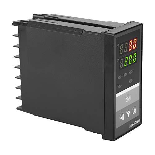 Regulador de temperatura, termostato regulador, termostato regulador, muy preciso, cómodo y estable, 0-1300 ℃ para máquinas y hornos de automatización industrial.