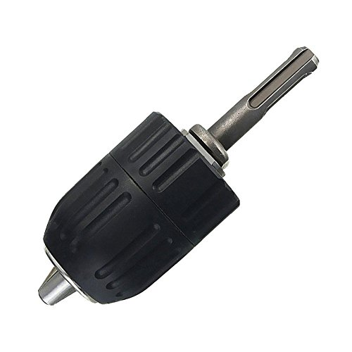 Yakamoz 2mm - 13mm Heavy Duty Keyless Drill Chuck Quick Release Conversion Tool with 1/2' SDS Adaptor