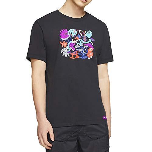 NIKE CN8099-010 Camiseta de Manga Corta para Hombre, Black, L