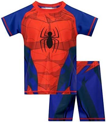 Marvel Boys Spiderman Two Piece Swim Set Multicolor Size 5 product image