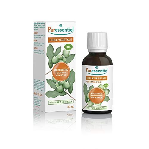 Puressentiel - Huile Végétale Macadamia - Bio - 100% pure et naturelle - 30 ml