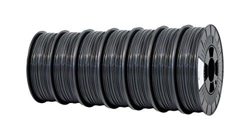 Ice fialements 7valp166Pla Filament, 2,85mm, 0,75kg, Gentle Grey (Lot de 7)