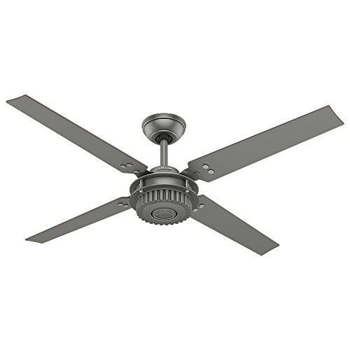 Hunter Chronicle Industrial Indoor / Outdoor Ceiling Fan with Wall Control, 54
