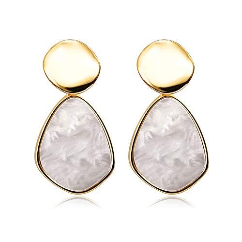 Earring New Korean Statement Drop Earrings For Women Fashion Vintage Geometric Long Dangle Earrings Female Jewelry No.8