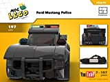 American Mustang Police (Instruction Only): MOC LEGO (English Edition)