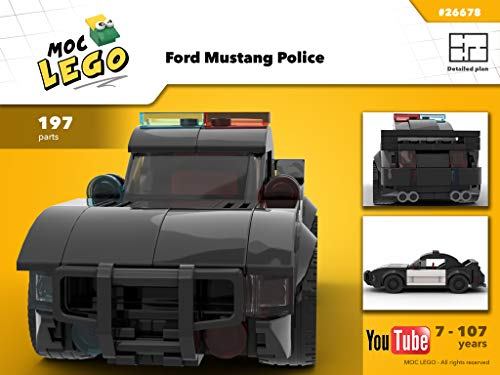 American Mustang Police (Instruction Only): Moc Life (English Edition)