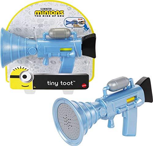 Minions -Blaster Spara Puzzette Tiny Toot con Suoni Esilaranti, Giocattolo per Bambini 4+ Anni, GMF84