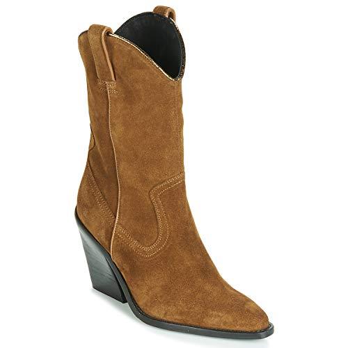 BRONX NEW KOLE Enkellaarzen/Low boots dames Bruin Enkellaarzen