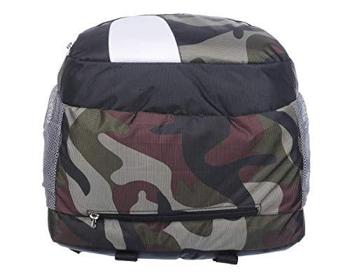 Good Friends Waterproof, Laptop College School Bag + Digital Watches Combo (Military +Green)