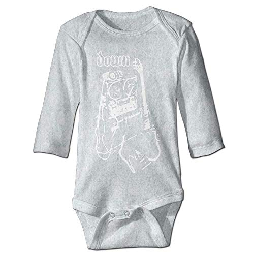 Unisex Toddler Bodysuits Global Down Power of The Riff Boys Babysuit Long Sleeve Jumpsuit Sunsuit Outfit Ash