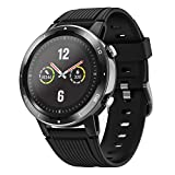 Letsfit Smart Watch with Oxygen Saturation Monitor and Heart Rate Monitor, Step Counter, Sleep & Swim Tracking, 5ATM Waterproof GPS Smartwatch Compatible with iPhone and Android