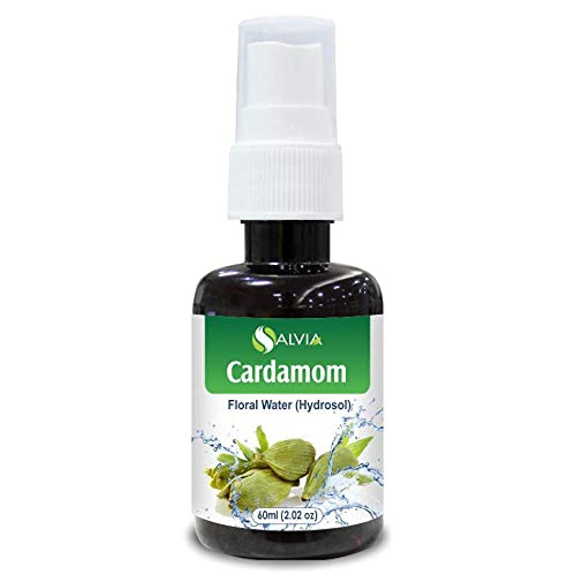 ミュート司法グリーンバックCardamom Floral Water Floral Water 60ml (Hydrosol) 100% Pure And Natural