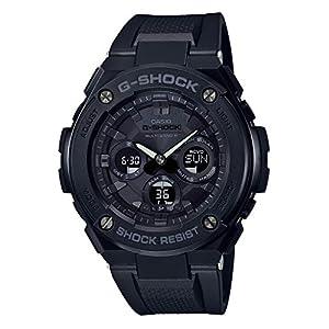 """[カシオ] 腕時計 ジーショック G-STEEL 電波ソーラー GST-W300G-1A1JF メンズ ブラック"""""""