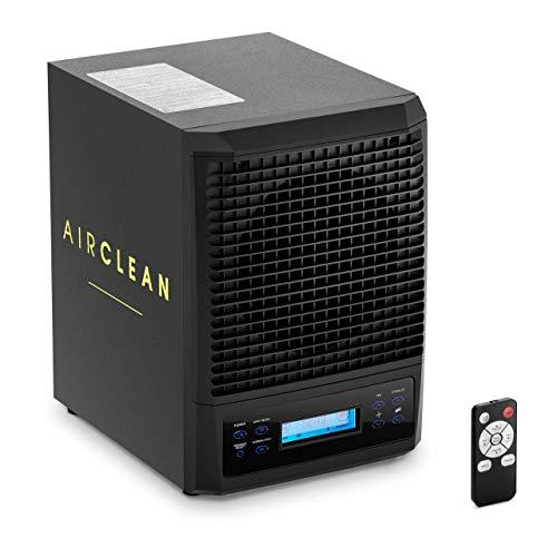 Ulsonix Generatore di Ozono Ozonizzatore Aria Professionale AIRCLEAN 600P (600 MG h, 5 filtri, 50 W, Luce UV, Display LCD)