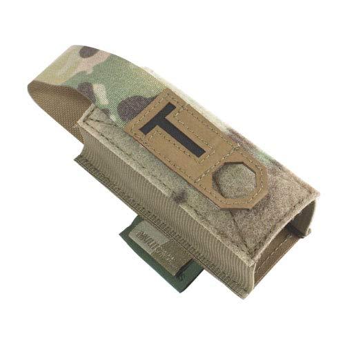 WARRIOR - A.S. Support de tourniquet élastique découpé au laser, Multicam.
