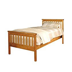3ft Single W100cm x L200cm x H82cm - Headboard Height is 82cm, Under bed clearance approx. 26cm, Note all sizes are approximate. Contemporary, modern and sturdy This bed comes flat packed for simple home assembly all tools and instructions included S...