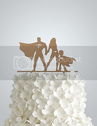 Frog Studio Home Decoración para tarta de boda de madera inspirada en...