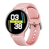 LIGE Smart <span class='highlight'>Watch</span> for Ladies, Heart Rate <span class='highlight'>Blood</span> <span class='highlight'>Pressure</span> Sleep Monitor Smart Bracelet, Full Touch Screen IP67 Waterproof Sports <span class='highlight'>Watch</span> iOS Android Phones, Pink