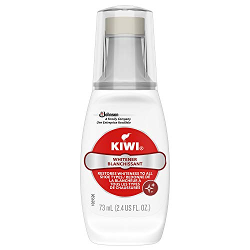 KIWI Shoe Cleaner and Whitener | For Leather, Vinyl, Canvas, Nylon and More | 2.4 Fl Oz
