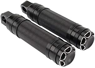 Motocicleta reposapiés Clavijas del pie Pedal + Shift Nails Peg for Harley Touring Sportster XL 883 Dyna Softail (Color : Foot pegs)