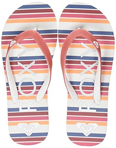 Roxy Rg Tahiti sandal for Girls, Tongs. Bébé Fille, Rose barely, 21 EU