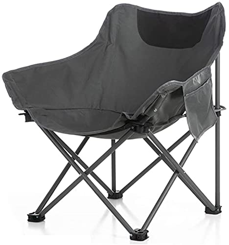 QUERT Silla de Pesca al Aire Libre, sillas de Camping Plegables, sillón reclinable portátil de jardín para Picnic, Playa, Senderismo, Barbacoa, Viaje
