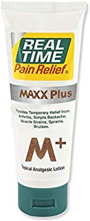 Real Time Pain Relief Maxx Plus 3oz. Tube
