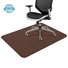 "【Upgraded Version & Premium Quality】The desk mat (size: 55""x35"") is made of 100% polyester fibers/front, and acrylic resin/back (with catechin), no creases, no curls & no fade; 100% odorless, non-toxic to keep a healthy indoor environment. 【Non-Slip ..."
