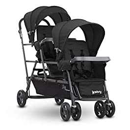JOOVY Big Caboose Graphite Stand On Triple Stroller