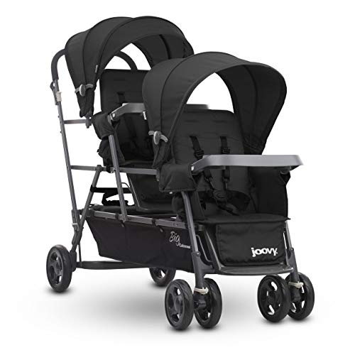 Joovy Big Caboose Graphite Stand On Triple Stroller Product Image