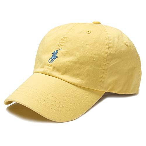 Ralph Lauren - Gorra de béisbol, color amarillo