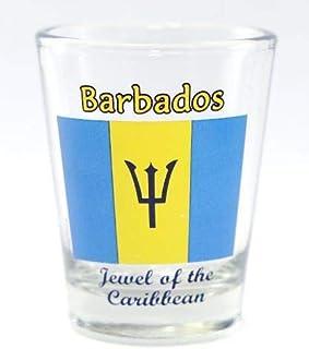 Barbados Flag Shot Glass