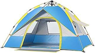 Automatiskt campingtält för utomhusbruk 1-4 personer lättöppnat anti-UV tält turist 4 säsonger regnsäker familj resor stra...