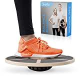 SportyAnis® Premium Balance-Board Holz inkl....