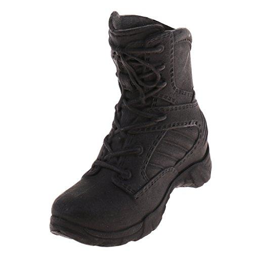 B Blesiya 1/6 Zapatos Militares Botas De Combate Botas Tácticas para