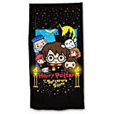 Toalla Playa o baño Harry Potter, 70X140cm, Producto Oficial Harry Potter