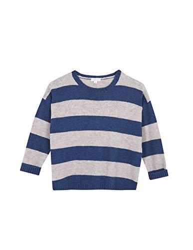 Gocco Jersey Rayas Azul Medio Sweater, 44020 para Niñas