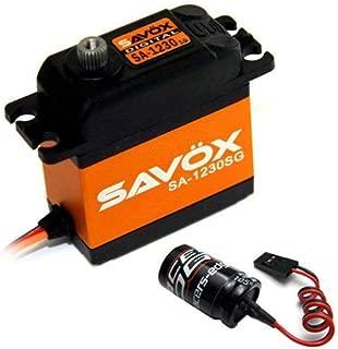 Savox SA1230SG Monster Torque CORELESS Steel Gear SERVO Free Glitch Buster JR FUTABA HITECH TRAXXAS LOSI HPI ARRMA