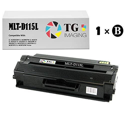 TG Imaging Compatible Toner Replacement for Samsung MLT-D115L Black 1-Pack Xpress M2820, M2870, M2820DW, M2870FW
