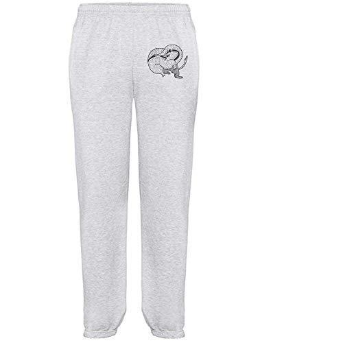 Azeeda Groß 'Elefant Spitzmaus' Grau Joggeurs adultes / Pantalons de survêtement / Fonds (JO00051295)