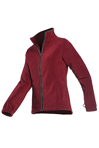 Baleno, Giacca in Pile Sarah Jacket-Wine Rosso, Grande, Donna, Sarah, Wine Red, S