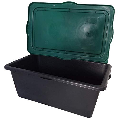 Hossi's Wholesale Cubeta para mortero, para cemento, mezclador, cubo rectangular 1 pieza...