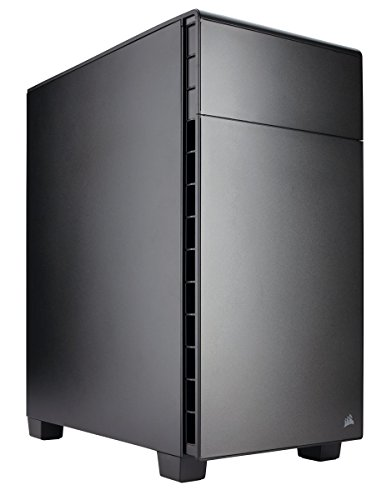 Corsair Carbide 600Q - Caja de PC, Revertido Mid-Tower ATX, silencioso insonorizado Edition, Negro