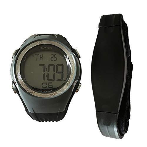 relojes deportivos frecuencia Fitness Tracker Monitor de ritmo cardíaco Deportes Relojes polares Medidor de sensor de pulso Correr Ciclismo Correa para el pecho Hombres Mujeres Reloj deportivo