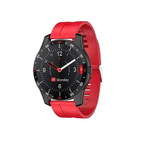 Smartwatch, Orologio contapassi Sportivo Activity Tracker Fitness Uomo Donna Smart Watch, Cardiofrequenzimetro, Cronometro, Smartband Notifiche Messaggi Controller Fotocamera Musicale OCTOWAY